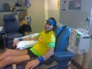 BB in hospital