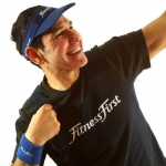 BB verticle w Fitness First Logo Tshirt